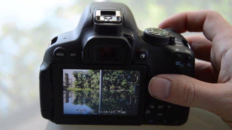 Canon EOS 700D DSLR Camera for Photography