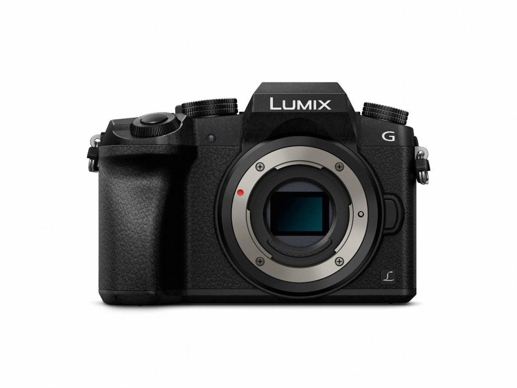 Panasonic Lumix DMC-G7 Mirrorless Micro Four Thirds Digital Camera (Body Only) Bundle with Carrying Case + LCD Screen Protectors + More